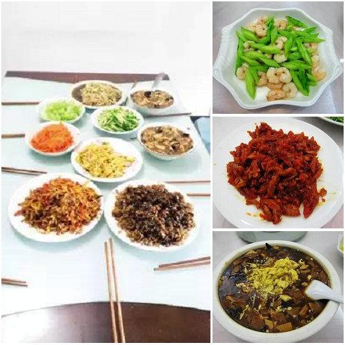 天津打卤面,你猜一共能有多少种配菜?